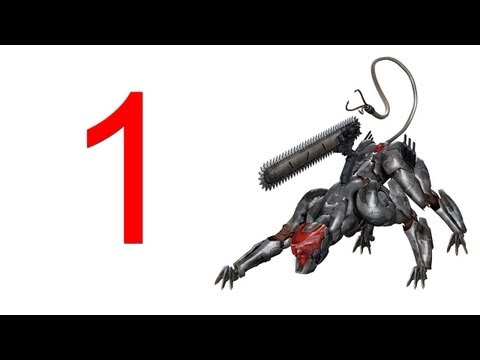 Metal Gear Rising Revengeance - Blade Wolf DLC walkthrough part 1 let's play gameplay HD PS3 XBOX Metal Gear Rising Revengeance