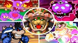 Evolution of Final Bosses in Mario & Luigi Games