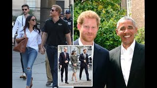 Prince Harry fans shocked by height discovery as he appears with Meghan Markle at Invictus Games