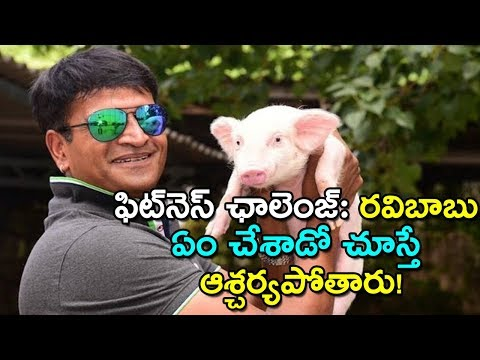 Ravi Babu Adugo Movie Promotions,Adhugo Movie Pre Teaser,Ravi Babu,Prashanth Vihari
