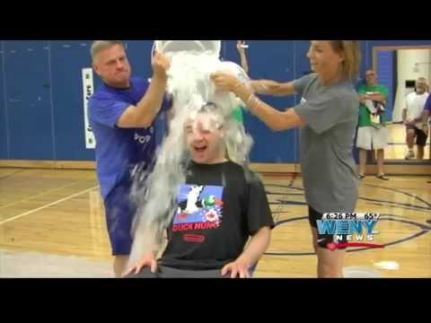 Chalk Talk Louisville & Horseheads Middle School Ice Bucket Challenge