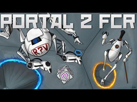 Portal 2 Fan Chamber Reviews! Stupid Difficult. Multicolour Madness and Minecraft!