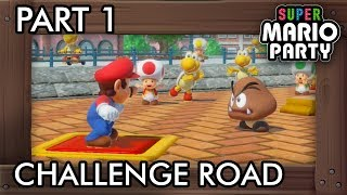 Super Mario Party: Challenge Road (Solo Mode) Part 1 - Shell Street
