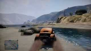 GTA V Fun! 4x4 in the Mud Bog