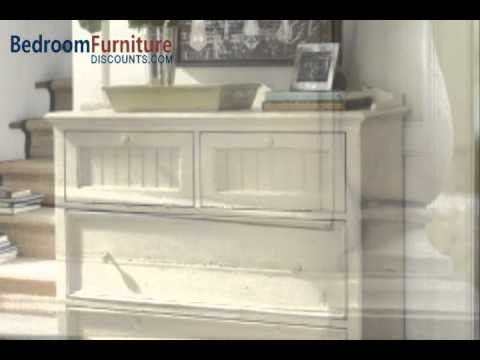 Paula Deen Home Steel Magnolia Platform Bedroom Set In Linen Youtube