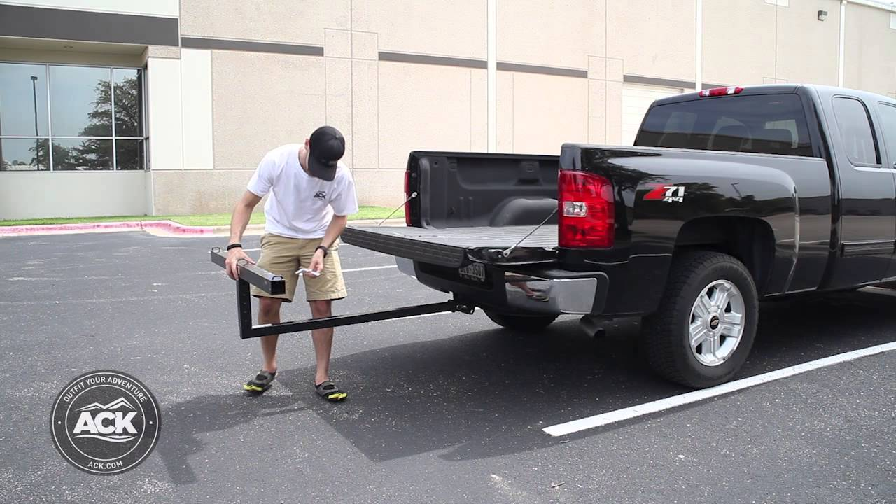 How To Install The Darby Extend A Truck Bed Extender Youtube