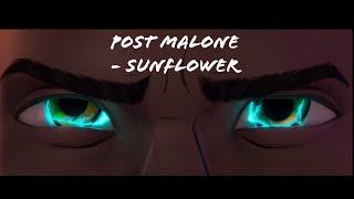 Post Malone Sunflower Spider Man Into The Spider Verse