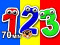 Numbers 123 Songs Collection Vol 1 3D Compilation Teach Toddlers How To Count Learn 123s mp3
