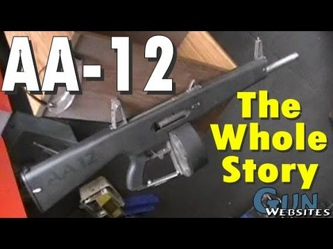 AA-12 Full Auto 12g Shotgun