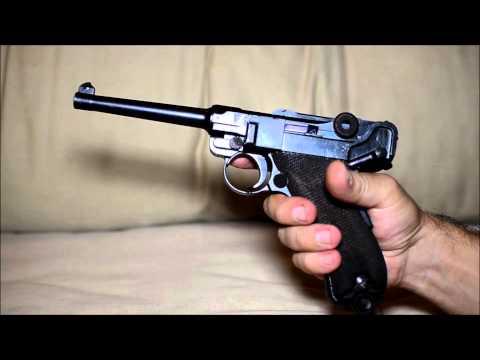 Pistola Parabellum (Luger) 1906 - Contrato Brasileiro - Exército Brasileiro