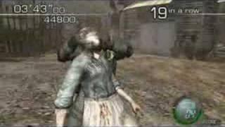 Resident Evil 4 (PC) Mercenaries - Hunk 71 Combo 140650