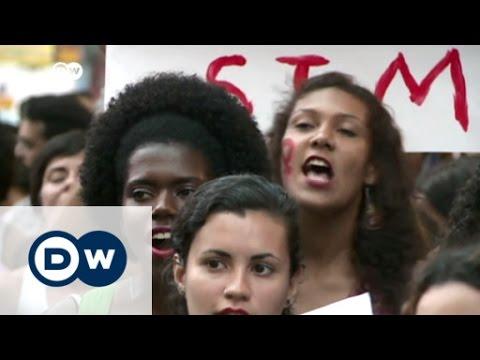 Brazil's women protest against rape culture | DW News