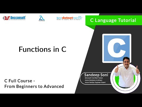 Introduction about Functions - BestCTraining