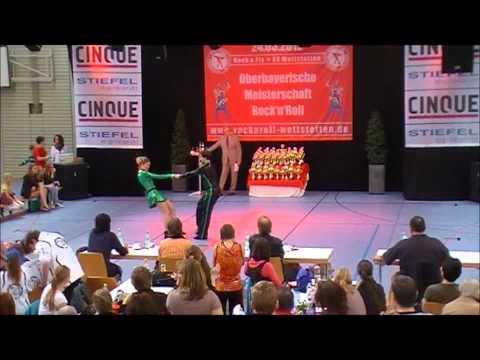 Michelle Tränkle & Roland Sieker - Oberbayerische Meisterschaft 2012