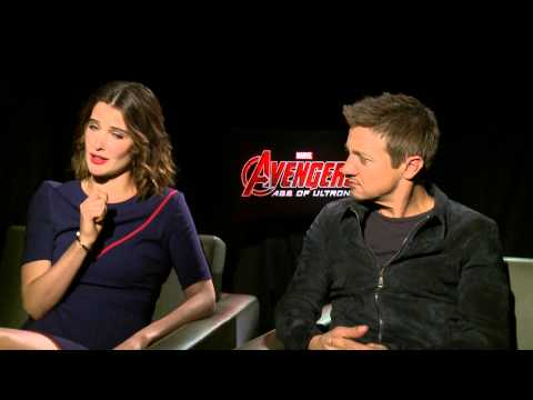 Jeremy Renner & Cobie Smulders on AoS, Hawkeye's Future & More  | Avengers 2: Age of Ultron