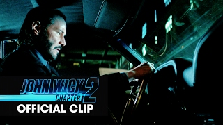 John Wick: Chapter 2 (2017 Movie) Official Clip - 'Car Chase'