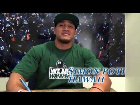 2014 Fullerton College Football National Signing Day