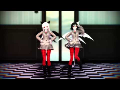 【MMD】ビバハピ - Viva Happy 【Models Test】