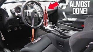 Clean Handbrake Install + Full Plans for Black 350Z