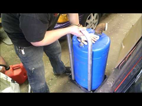Home Made Fuel Transfer Tank Gasoline Petrol