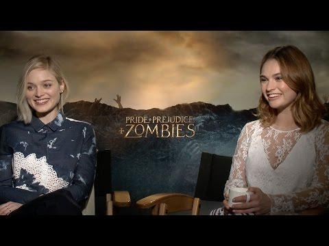 Lily James & Bella Heathcote Talk 'Pride & Prejudice & Zombies', 'Neon Demon' & 'Baby Driver'