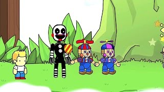 Scribblenauts Unlimited 136 FNaF World Adventure Toys Part 2