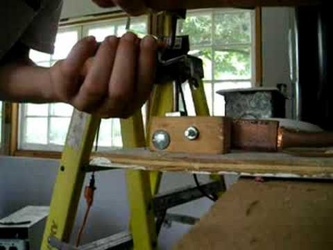 homemade spot welder