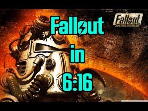 Fallout 1 Speedrun in 6:16