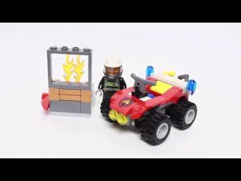 Обзор Lego City 60105 Пожарный Квадроцикл