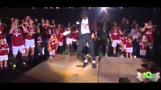 Kevin Prince Boateng - Michael Jackson Tribute - MILAN CAMPIONE D