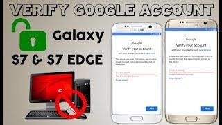 FINAL STEP BYPASS FRP LOCK SAMSUNG GALAXY S7 & S7 EDGE REMOVE VERIFY GOOGLE ACCOUNT LAST UPDATE