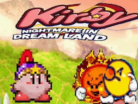 Kirby Nightmare In Dream Land:Part 3#: The Sun and Moon are our enemy.