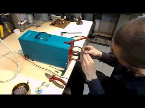 Точечная сварка для аккумуляторов из инвертора