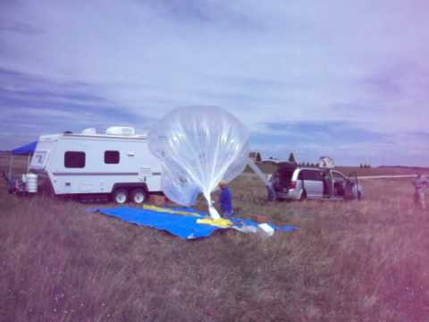 Zero Pressure Balloon Launch Black Forest Colorado June 2010 num 2