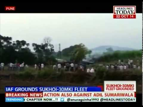 Indian Air Force grounds fighter jets post crash