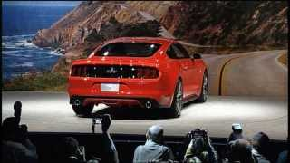 Ford Reveals All New 2015 Mustang