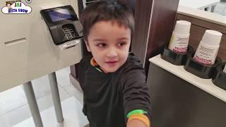Ninja Driving to McDonald's For Happy Meal | Jai Bista Show