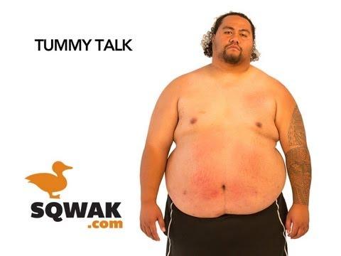 Tummy Talk: An Epic Drum Solo