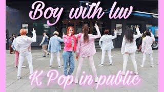 [K-POP IN PUBLIC] BTS || Boy With Luv feat. Halsey || By 4YUWOKI (SPAIN)