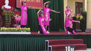 """Múa """" Cô Tấm Ngày Nay + Shuffle Dance """"11B1 (THPT Xuân Vân ) khoá 2016-2019"""