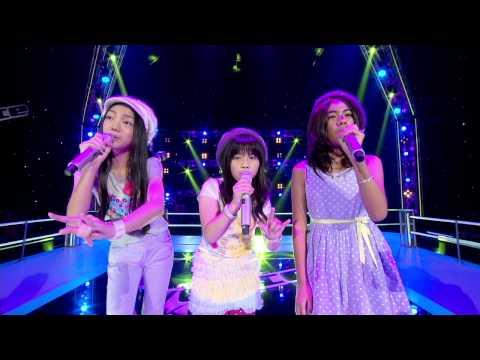 The Voice Kids Thailand - มีมี่ ลี VS ใบเตย VS มีมี่ - Love Fool - 8 June 2013
