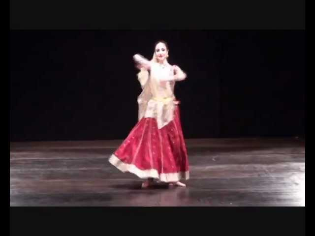 "Bollywood Semi-classical"" Khaee Cheed Mohe""from movie Devdas. Performed in Italy"