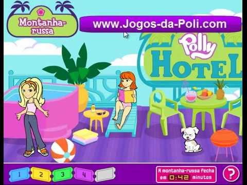Jogos da Poli - Polly Pocket na montanha russa jogo