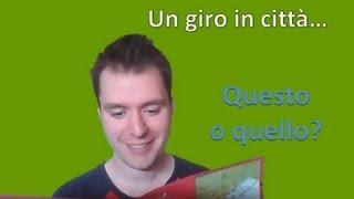 Apprendre l'italien - Leçon 10
