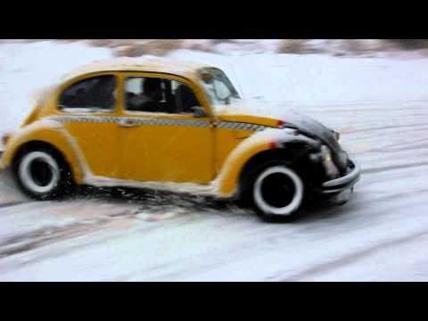 Beetle Drift İn Snow - 2