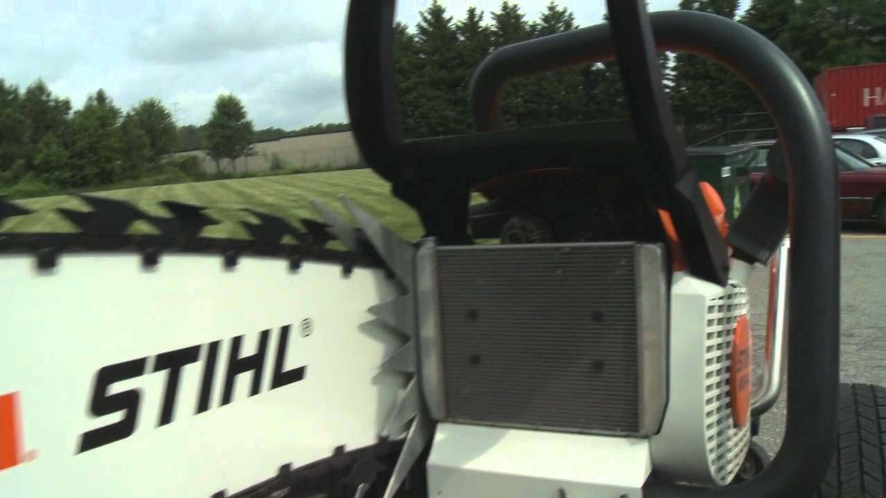 Stihl Hemi Powered Chainsaw