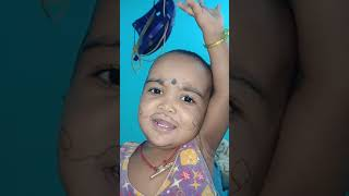 Baby👶 sing a song like a bhagavathar 😆😆
