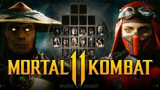 MORTAL KOMBAT 11 - NEW Characters REVEALED! Johnny Cage LEAKED w/ Rain & Others? (Roster Breakdown)