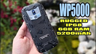 Oukitel WP5000 Review - Rugged Phone - IP68 - 6GB RAM