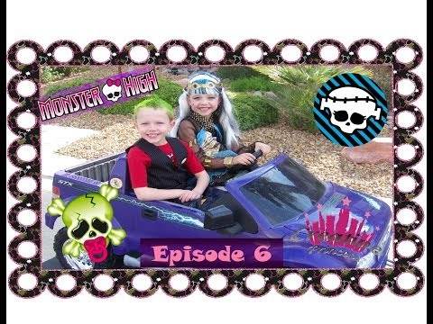 Monster High   Frankie's Fright Nights - Episode 6   Creative Princess